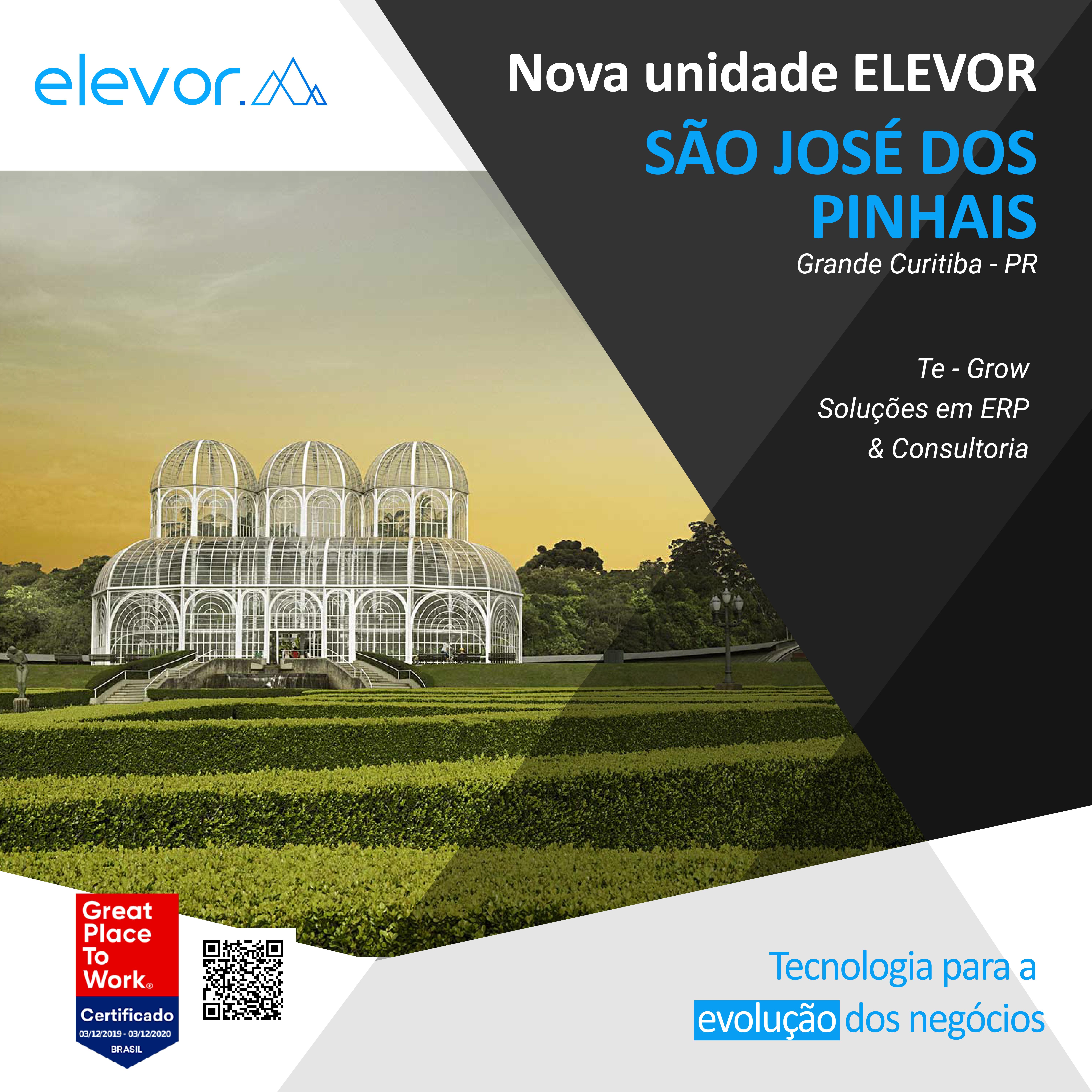 Nova Unidade Elevor: São José dos Pinhais – PR